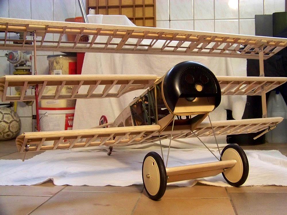 Fokker DR.I  -  DeAgostini-Umbau, M 1:6 Rumpf_15