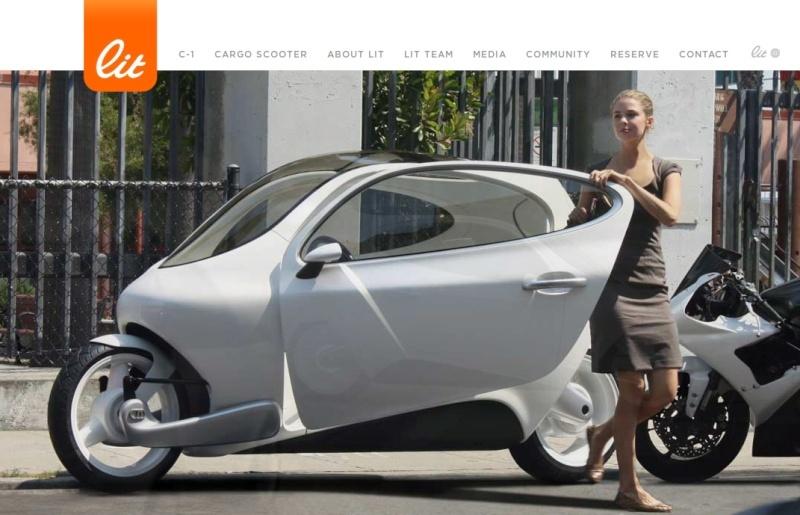 Lit motors : moto à volant ou auto à 2 roues ? Litmot10