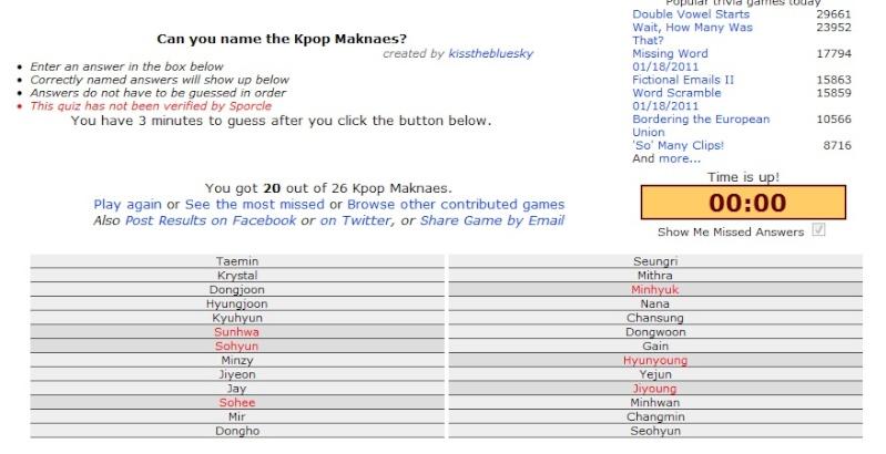 can you name the kpop maknaes? Maknae10