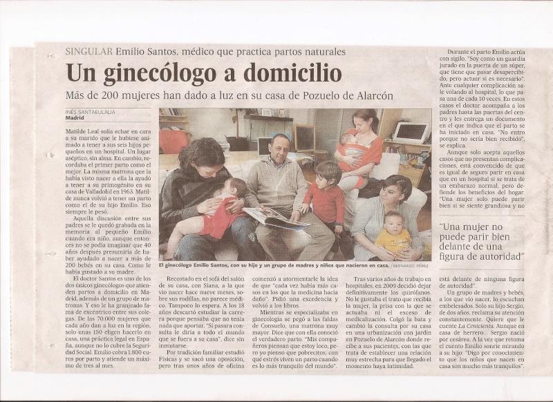 Colaborador de la Asociación en el diario el PAIS hoy Emilio11