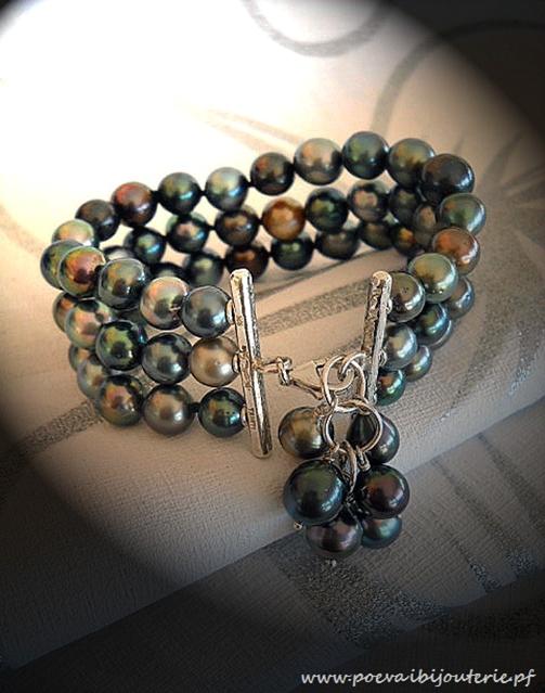 L'enfilage de perles, des nœuds surtout dans ma tête Bracel10