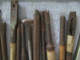 Fabrication outils ciselure et estampe en acier trempé   - Page 2 Img_6812
