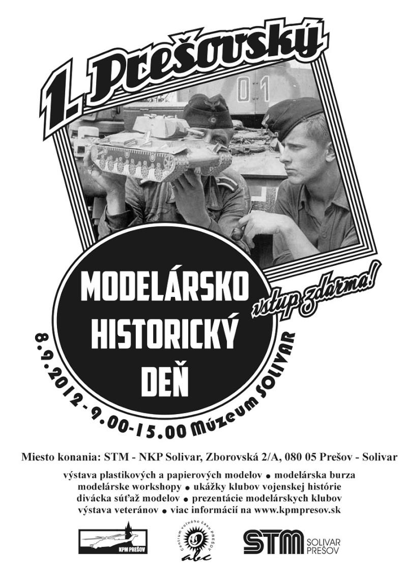 Prvý prešovský  modelársko-historický deň Plagat10