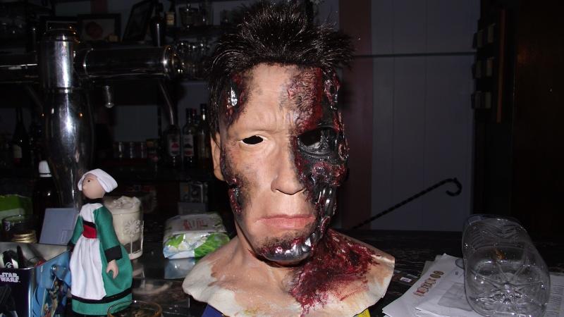 Terminator 3 Bust damaged 1/1 (Arnold) Dscf2311