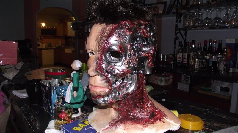 Terminator 3 Bust damaged 1/1 (Arnold) Dscf2312