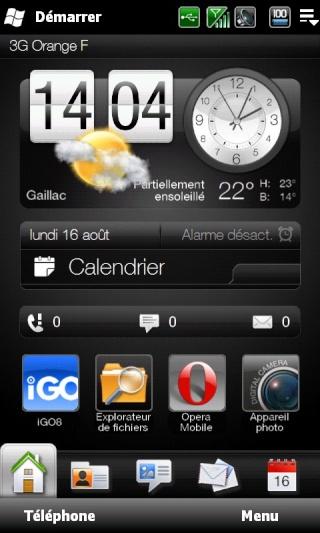 [ROM WM 6.5] [FR] [16.08.2010] Josoft  1.0 Leo [Build 21903] 576Mo Ram Screen12