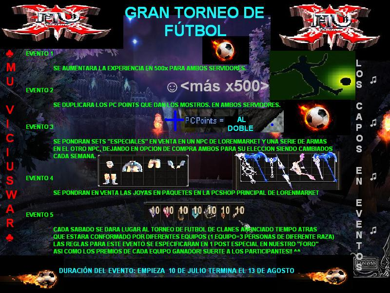 "[EVENTO JULIO] ""GRAN TORNEO DE FUTBOL"" Banner10"