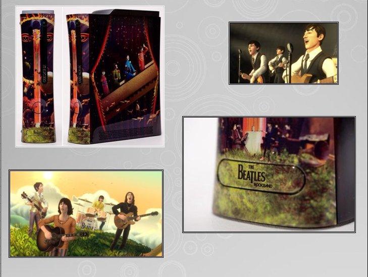 XBOX 360 : Edition BEATLES Rockband Beatle11