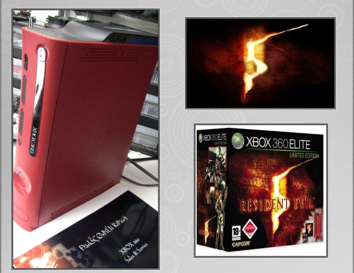 XBOX 360 : Edition RESIDENT EVIL 5 Biohaz13