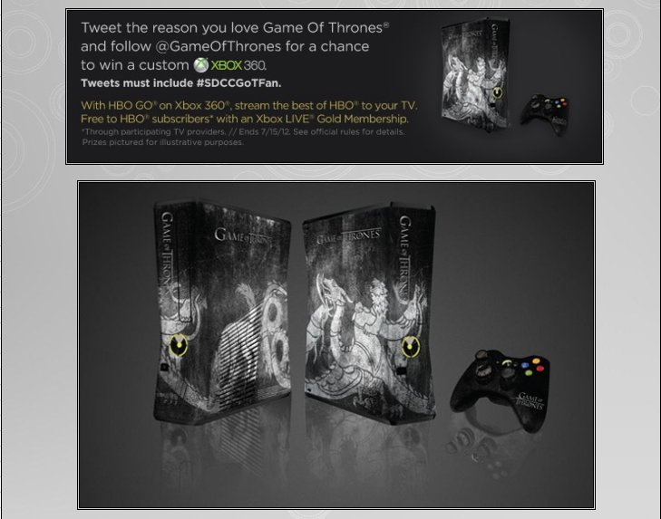 XBOX 360 : Edition GAME OF THRONES Game_o12