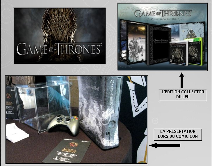 XBOX 360 : Edition GAME OF THRONES Game_o14