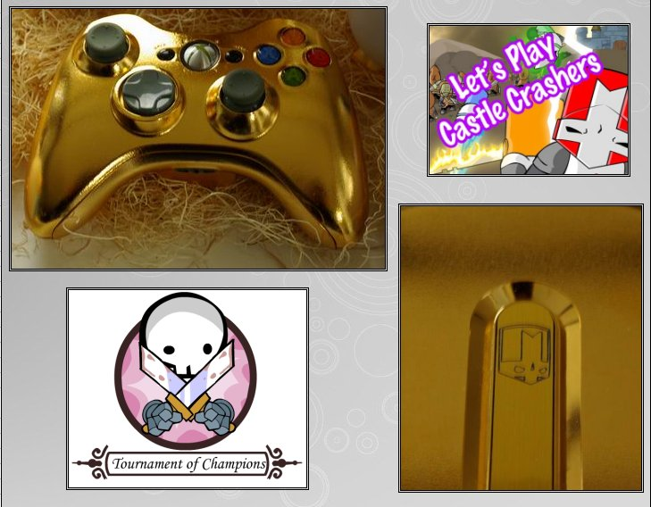 XBOX 360 : Edition GOLD CASTLE CRASHERS Version   Gold_c12