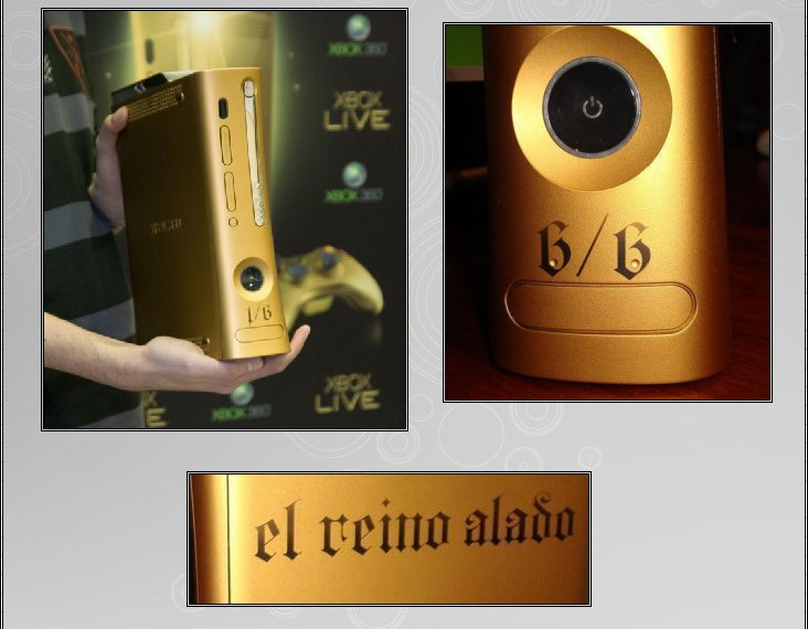 XBOX 360 : Edition GOLD SPAIN Version   Gold_s12