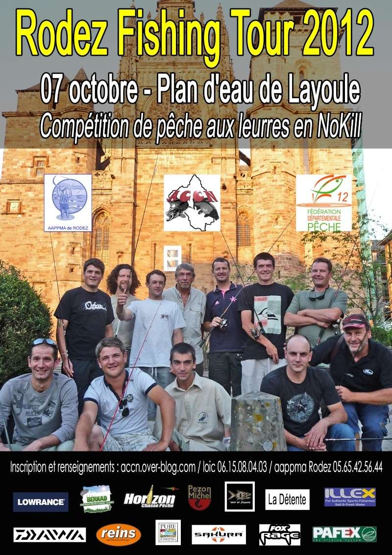 Rodez Fishing Tour 2012 Affich13