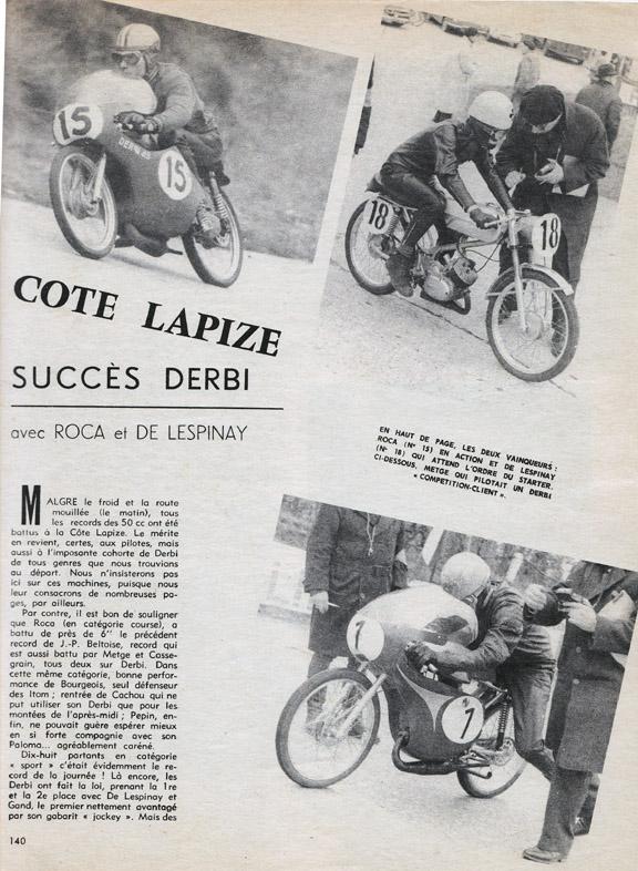 TRONCHE DE PISTARD...EN ACTION...DU MYTHIQUE...DU LEGENDAIRE - Page 2 1963-l10