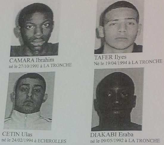 photo des suspects a echirolle Echiro10