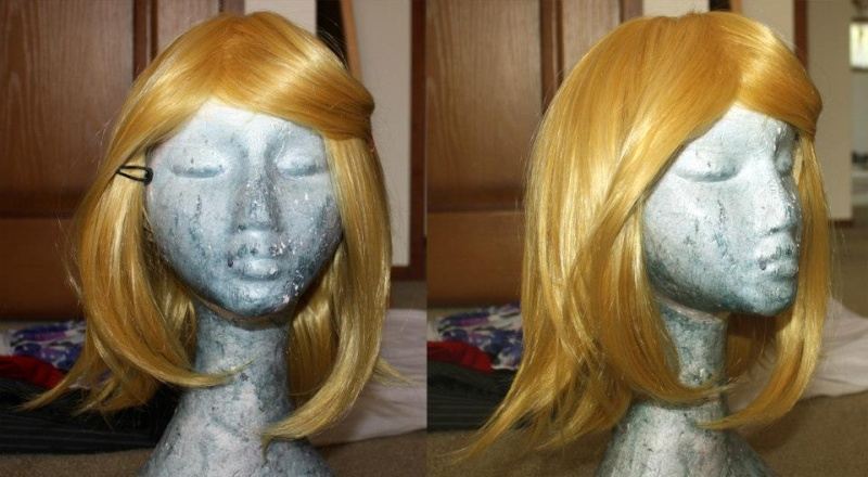 [SELLER] Blonde wig, movies and merchandise. 31826710