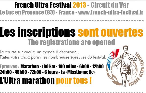 7 au 13 mai 2013 - French Ultra Festival au Luc en Provence Antibe10