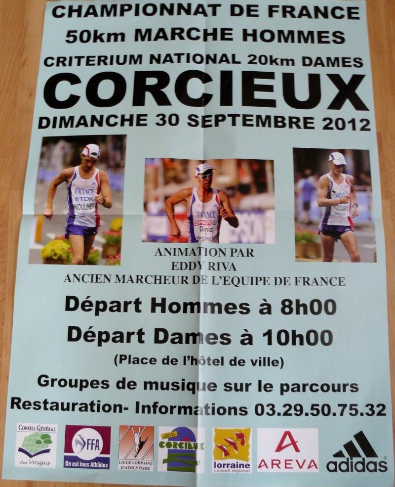 30-09-2012 Championnats de France 50 km marche à Corcieux Corcie10
