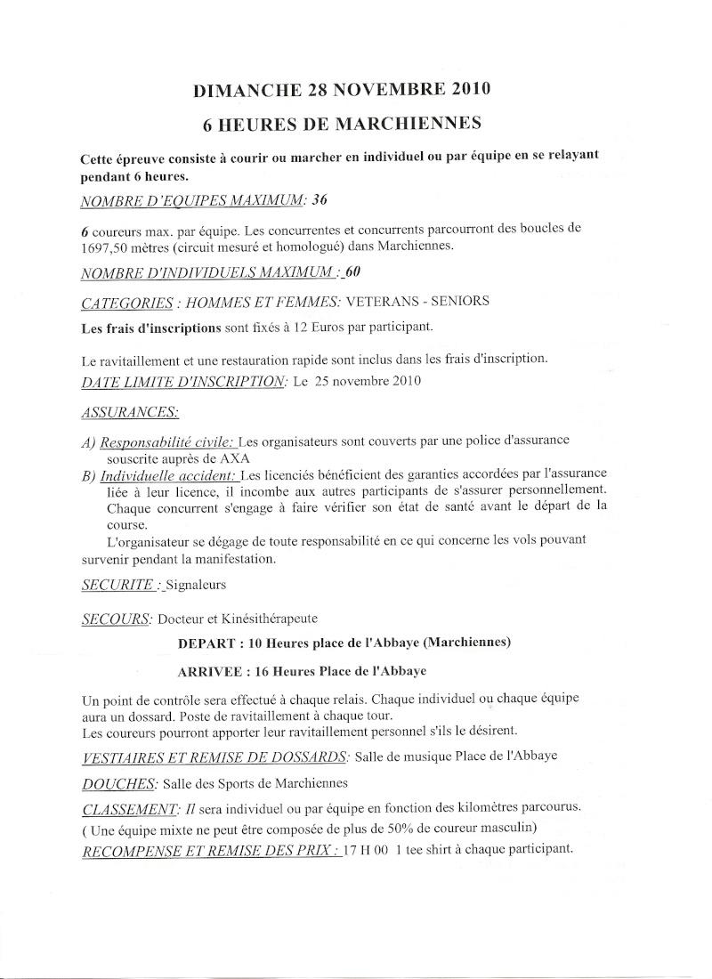 28 novembre 2010: les 6 heures de Marchiennes Marchi11