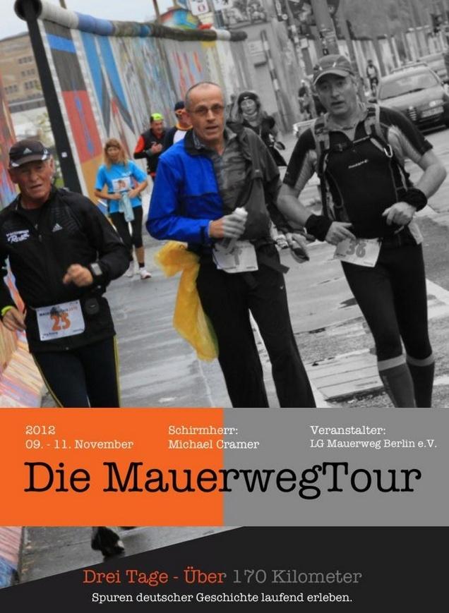 100 Miles de Berlin en 3 étapes :9-11/11/2012 Mauerw10
