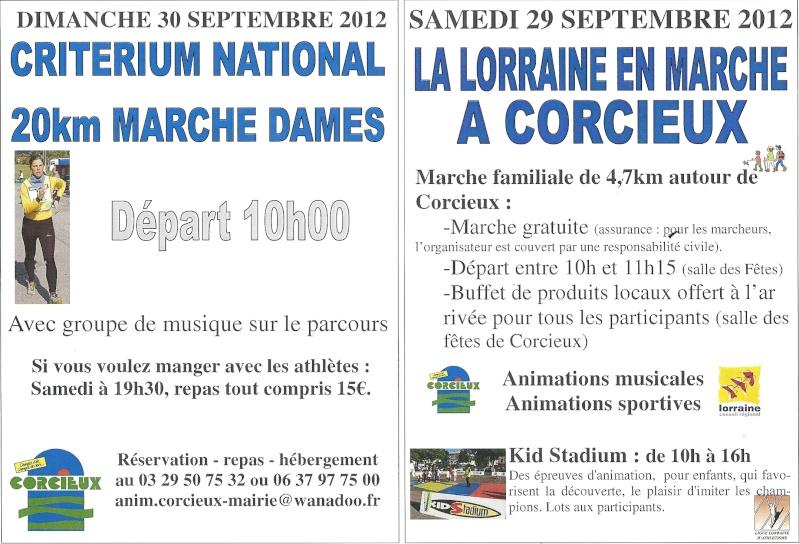 30-09-2012 Championnats de France 50 km marche à Corcieux Numari16
