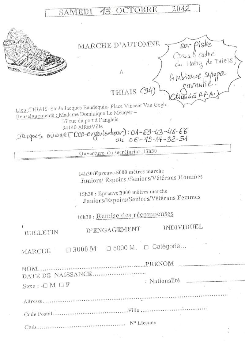 Marche d'Automne: 3000F/5000H: Thiais(94): 13/10/2012 Numari17