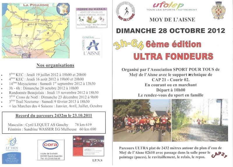 6 heures Moÿ de l'Aisne (ou 4/3/2/1h): 28 octobre 2012 Numari21