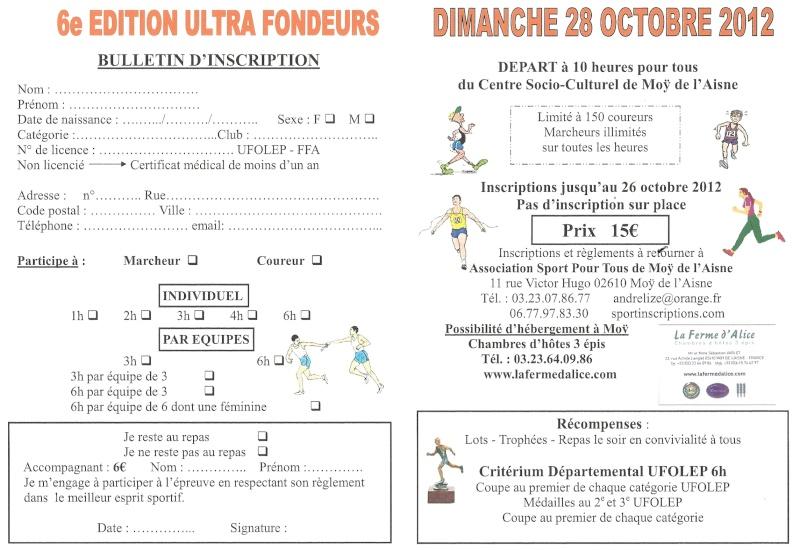 6 heures Moÿ de l'Aisne (ou 4/3/2/1h): 28 octobre 2012 Numari22