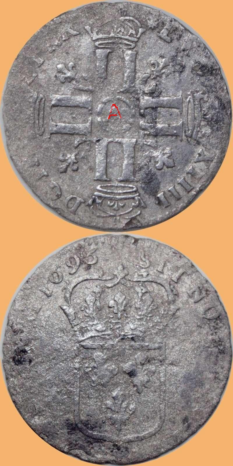 QUINZAIN LOUIS XIIII 1695. MAIS QUEL ATELIER? Louis_10