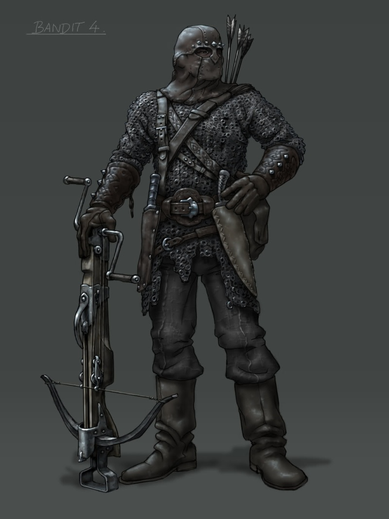 The Beastiary: Bandits and Highwaymen. Bandit10