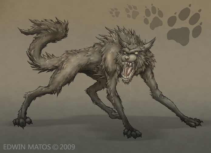 The Beastiary: Cairn Wolves Wolf210