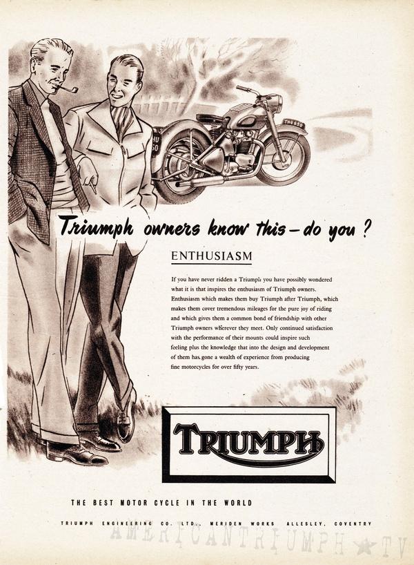 Affiche triumph Triump10