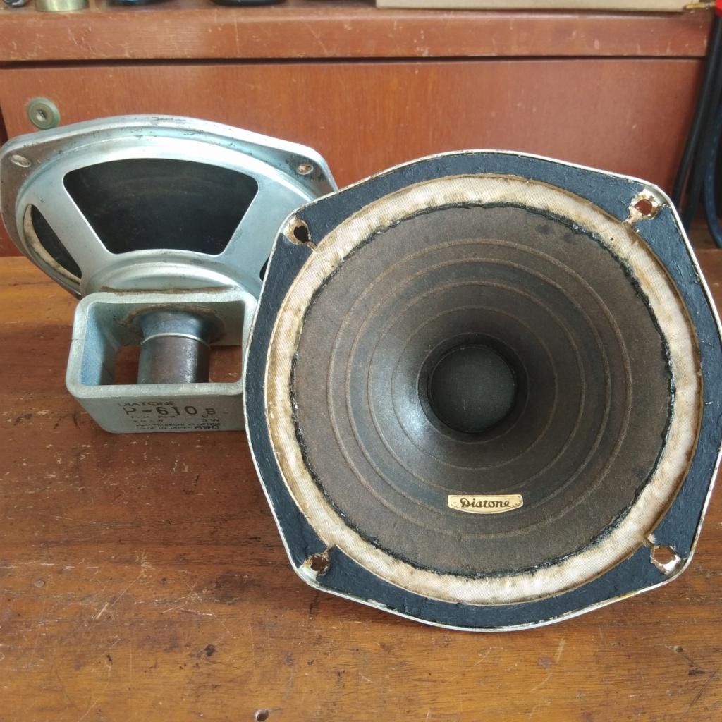 Diatone P610B fullrange speaker (USED) Img_2045