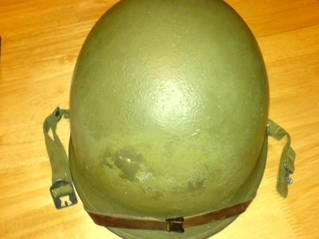 Korean issue M1 helmet Dsc01016
