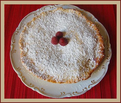 Gâteau basque aux framboises Gateau10