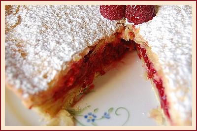 Gâteau basque aux framboises Gateau11