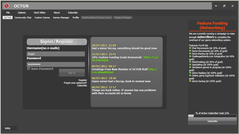 [OCTGN] [Mise à jour] Tutoriel pour jouer à Warhammer Invasion JCE en ligne Screen10