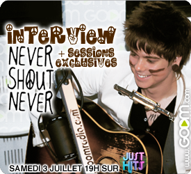 NeverShoutNever sur Just Hits Never-10