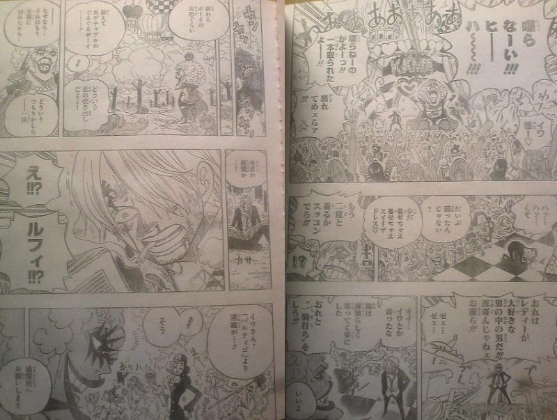 One Piece Manga 593 Spoiler Pics 0610