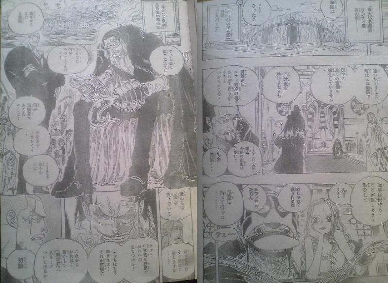 One Piece Manga 593 Spoiler Pics 0910