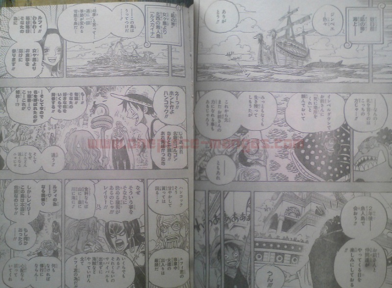 One Piece Manga 597 Spoiler Pics 0911