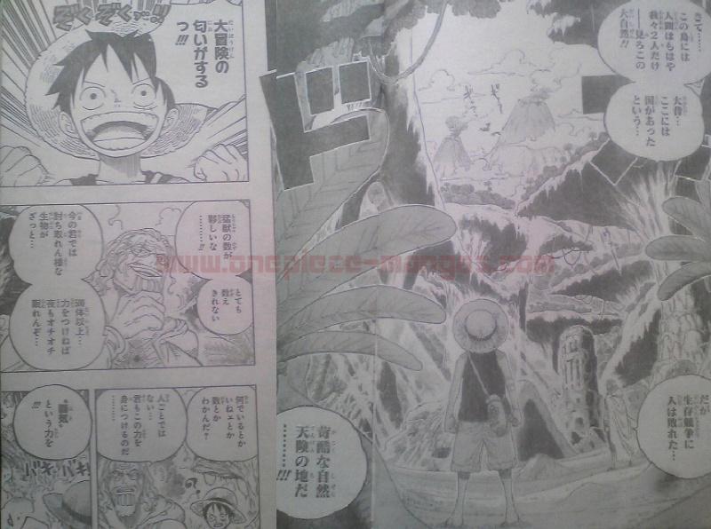 One Piece Manga 597 Spoiler Pics 1011