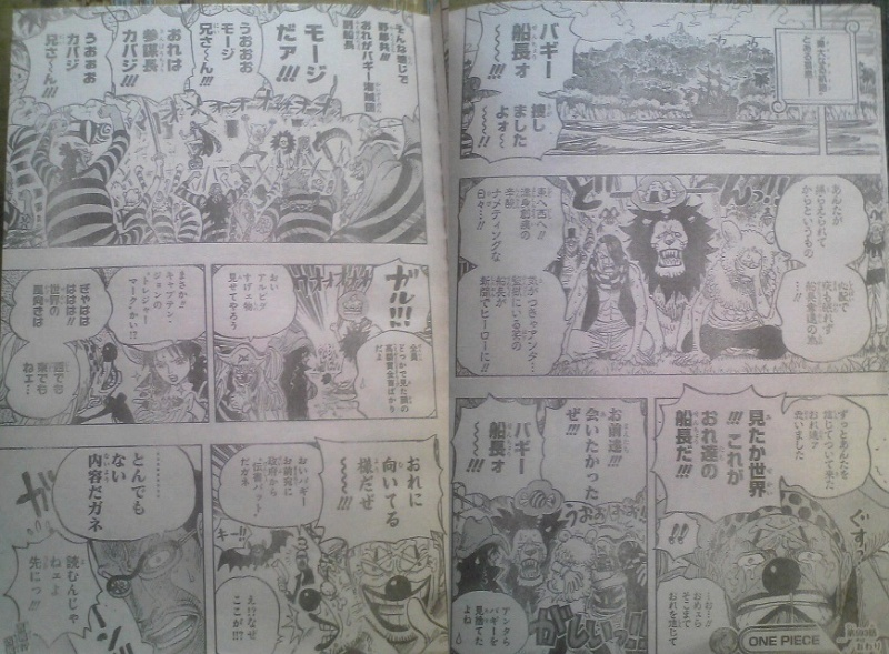 One Piece Manga 593 Spoiler Pics 1113