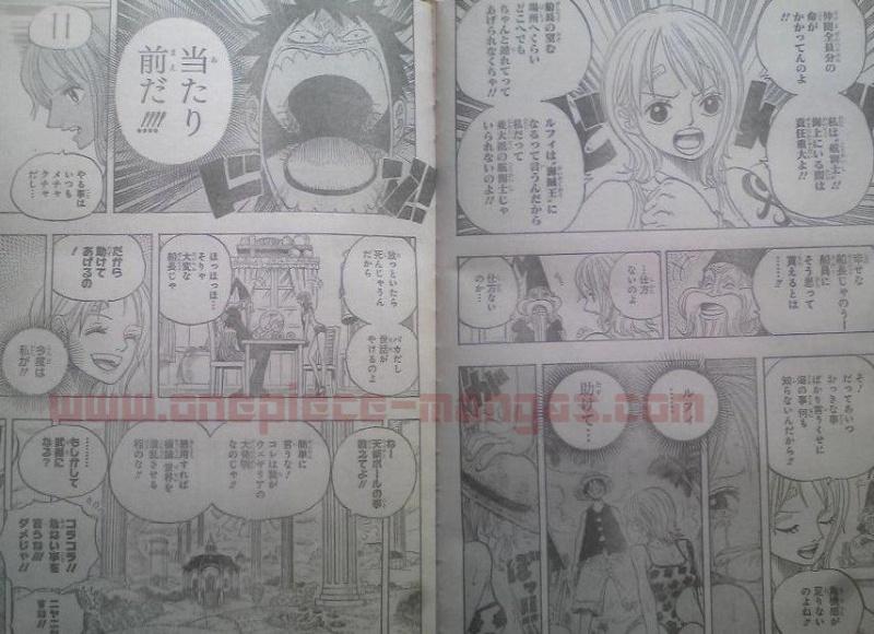 One Piece Manga 596 Spoiler Pics B13