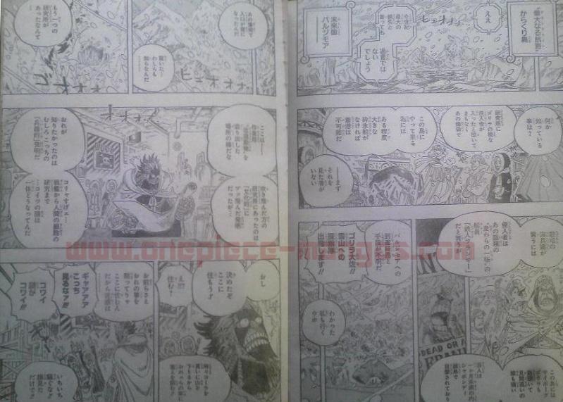 One Piece Manga 596 Spoiler Pics F12