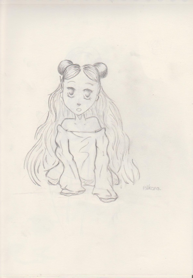 petite fille (bikono) Dessin16