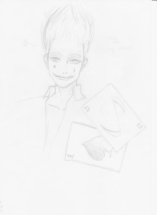 fanart hunterXhunter(bikono) Dessin18