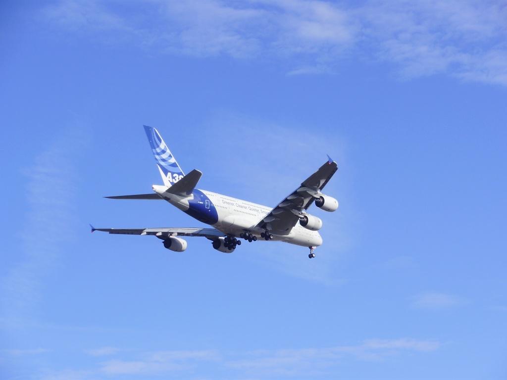 [29/08/2010] Visite de l'Airbus A380 à Nantes-Atlantique ! La410