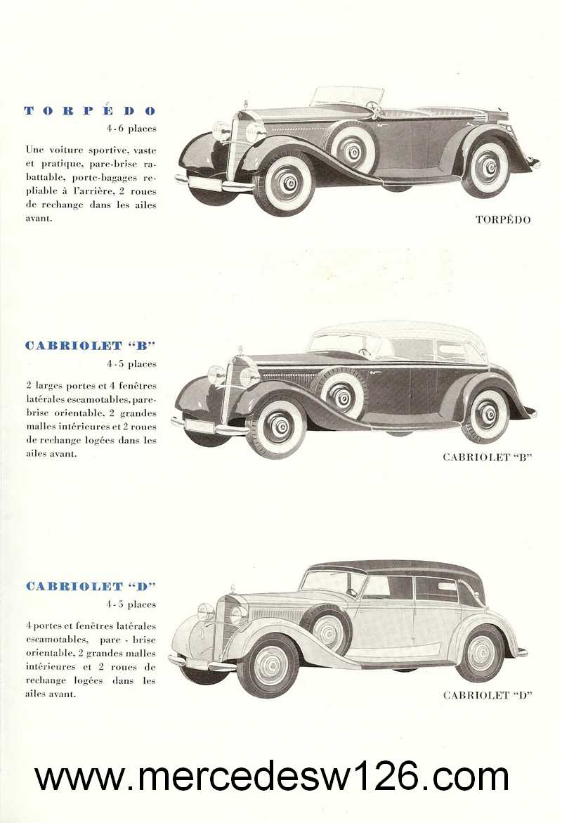 Catalogue de 1936 sur les Mercedes W143 230 W143_p13